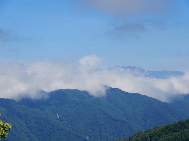 残雪の西駒ヶ岳