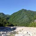 矢筈公園キャンプ場の河原