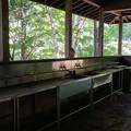 炊事棟の水場