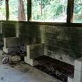 炊事棟の窯
