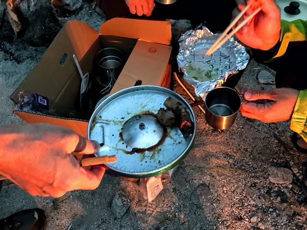 Photos: しし肉の炭焼きステーキ