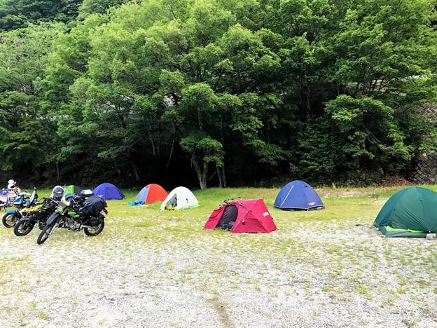 Photos: テント村