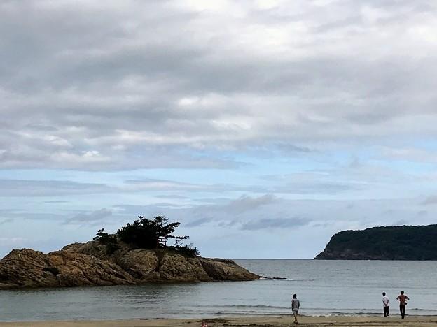 浦富海岸 向島