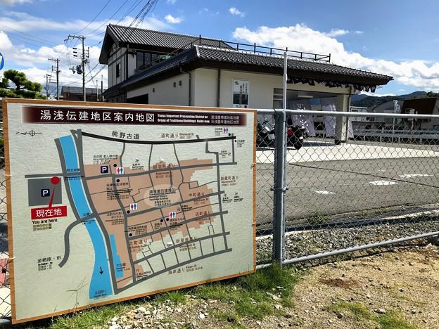 湯浅 重要伝統的建造物群保存地区の案内図