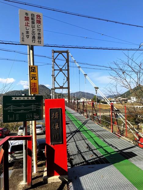 東山公園 吊橋