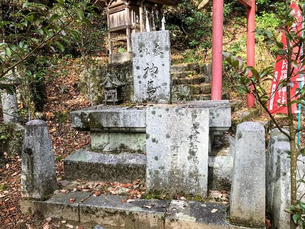 立売堀のサムハラ神社の事を掘ってるのかな