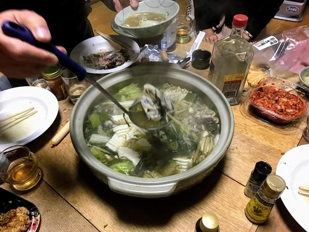 牡蠣・カニ入り海鮮鍋