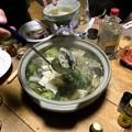 Photos: 牡蠣・カニ入り海鮮鍋