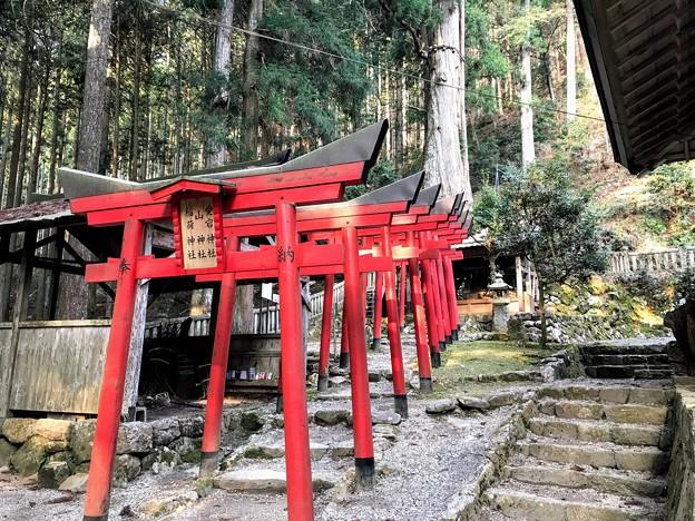 愛宕神社・山神社・稲荷神社の鳥居
