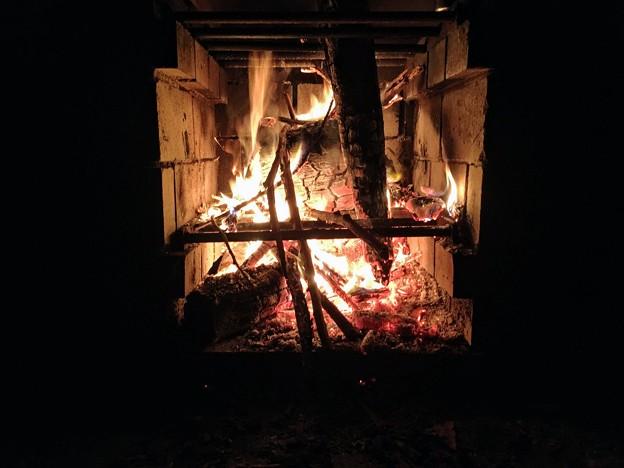 焚火タイム
