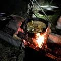 Photos: 墓ノ木自然公園キャンプ場のキャンプ飯 ダッジオーブン