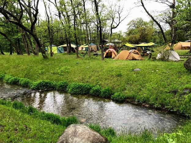 墓ノ木自然公園キャンプ場