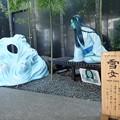 Photos: 妖怪ベンチ 雪女