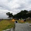 Photos: キャンプ場 端の東屋から