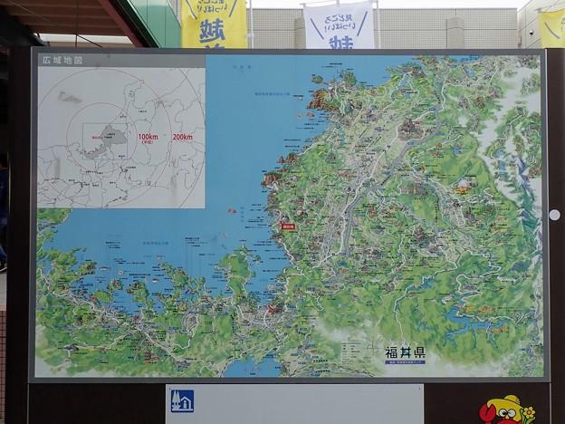 道の駅越前 広域地図