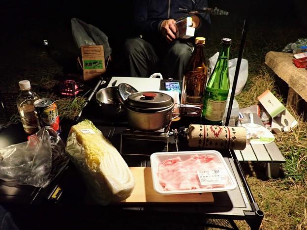 白菜と豚バラでお鍋