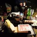 Photos: 白菜と豚バラでお鍋