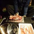 Photos: 猪肉のブロック登場!