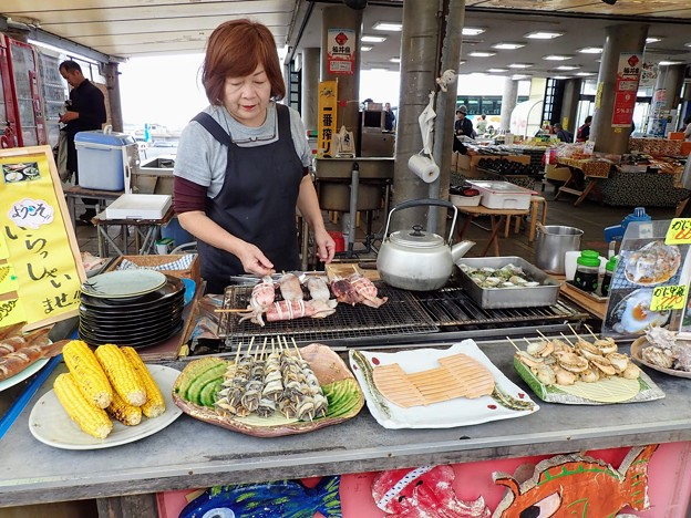 東尋坊の浜茶屋(土産屋さん)