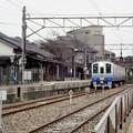 Photos: タイミングよく電車が到着
