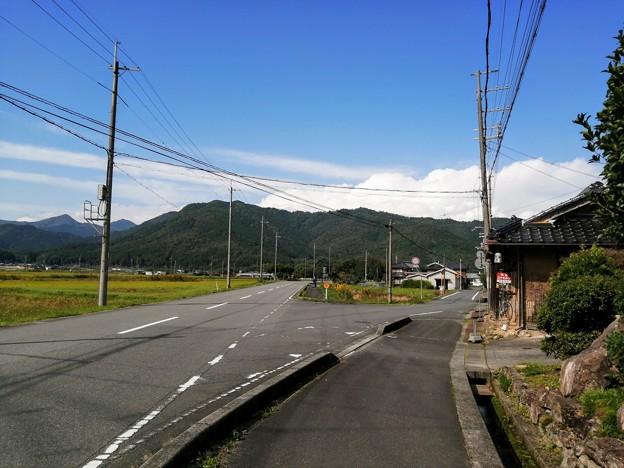 お店の前の風景