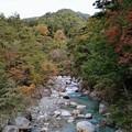 Photos: 紅葉と与田切川
