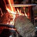 信州牛のステーキ