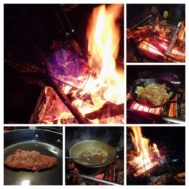 Photos: キャンプ飯