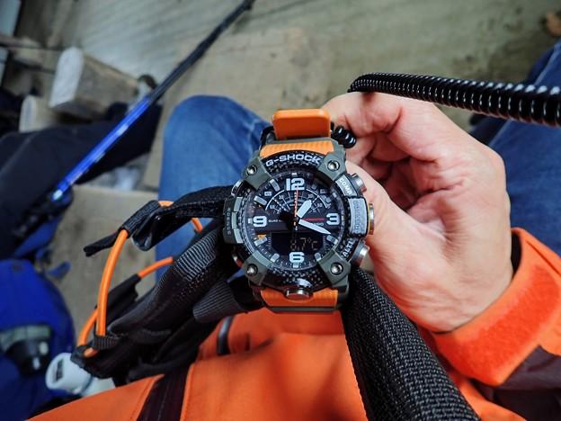 Photos: 腕時計は8.7℃