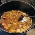 カニ鍋(味噌風味)