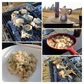 キャンプ飯(朝食)