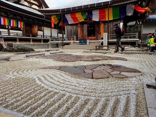 摩耶山天上寺の枯山水