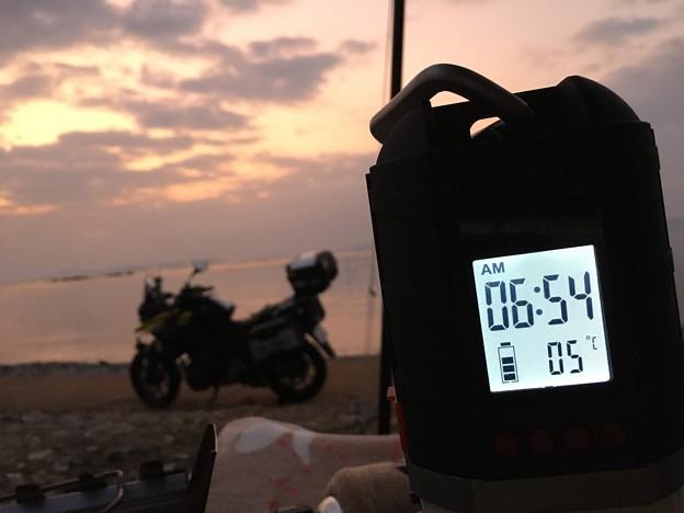 Photos: 暖かい朝