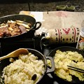 キャンプ飯(夕飯)