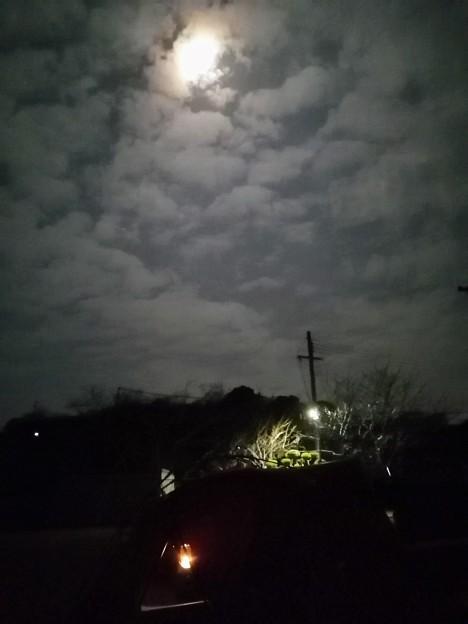 午前4時 曇ってきた