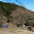 Photos: テントを張ったけど・・・