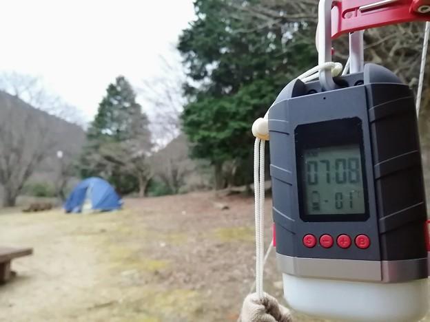 Photos: 最低気温1℃でした