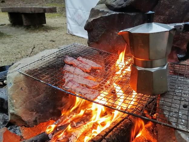 朝から焼肉