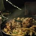 キャンプ飯の上海焼きそば