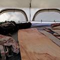 キノコテントで広々とキャンプ