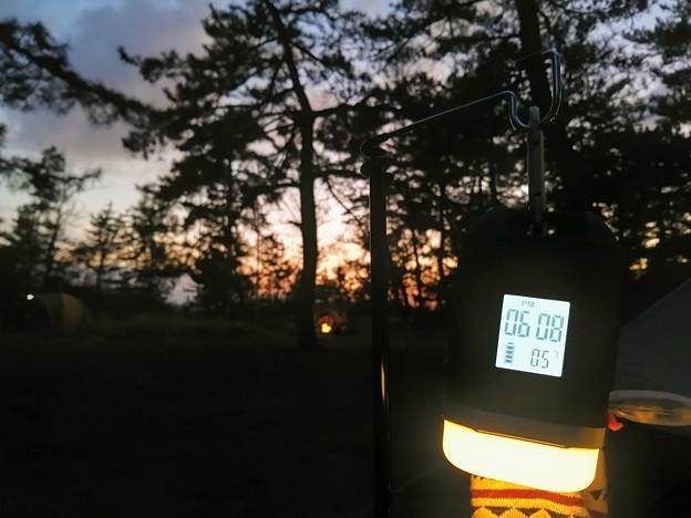 夕方の気温 5℃