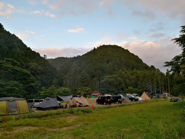 Photos: WOODsLAND Mioの夕暮れ