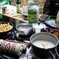 Photos: 朝食のキャンプ飯
