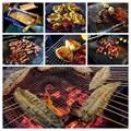 Photos: 流しそうめんキャンプのキャンプ飯
