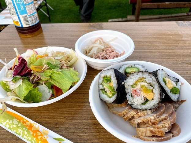 Photos: 和洋中華折衷の朝食