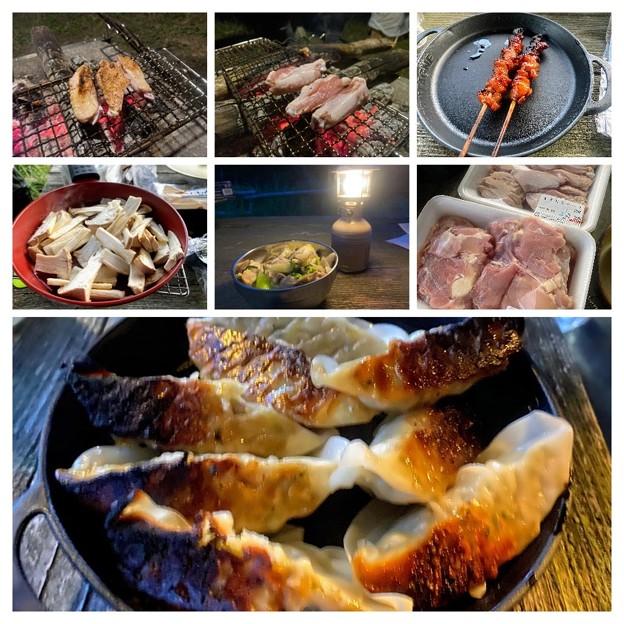 山の日キャンプのキャンプ飯