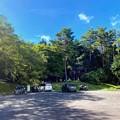 Photos: 後山キャンプ場 駐車場 と 第一サイト