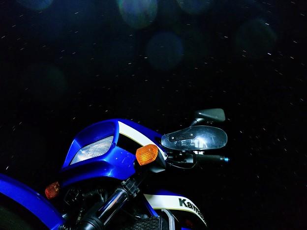 ZRXと星空