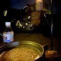 Photos: 夕飯は温かいにゅう麺
