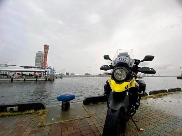 My SSTR2020は雨の中スタート